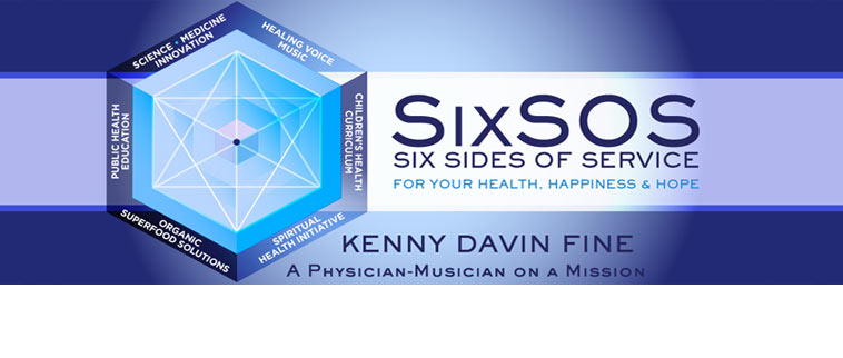 "The Six Sides of Service of Kenny Davin Fine, M.D.  <a href=""about.html"" >Click here for more information</a>"