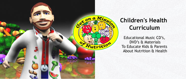 "Children's Health Curriculum. Get on a Mission of Nutrition.  Visit <a href=""http://www.goamon.org/"" target=""_blank"">GOAMON.org</a>"